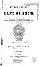Indian Pandits in the Land of Snow