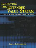 Improving the Extended Value Stream PDF