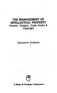 The Management of Intellectual Property PDF