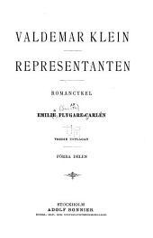 Valdemar Klein. Representanten: Volym 1