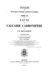 Annales du Musée royal d'histoire naturelle de Belgique: Volume11