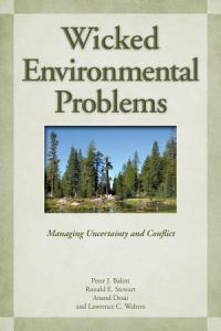 Wicked Environmental Problems Book