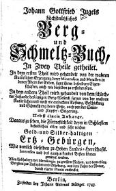Höchstnützliches Berg- und Schmeltz-Buch