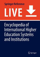 Encyclopedia of International Higher Education Systems and Institutions PDF