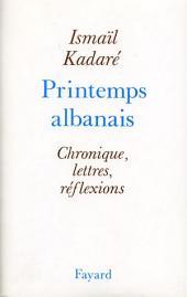 Le Printemps albanais