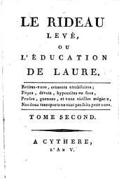 Le Rideau levé, ou l'éducation de Laure: Volume2