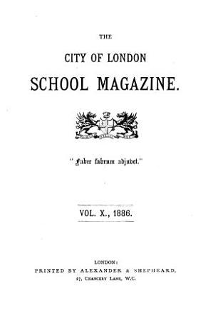 The City of London school magazine PDF