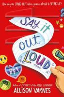 Say it Out Loud PDF