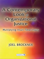 A Contemporary Look at Organizational Justice PDF