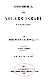 Geschichte Des Volkes Israel Bis Christus: Band 6
