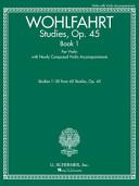 Studies  Op  45 Book