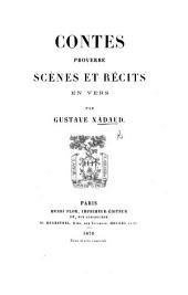 Contes, proverbe, scènes et récits en vers