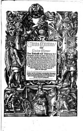 Titus Liuius, Vnd Lucius Florus, Von Ankunfft vnd Vrsprung des Römischen Reichs: der alten Römer herkommen, Sitten, Weißheyt ... Jetzund auff daß newe auß dem Latein verteutscht ...