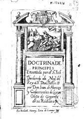Doctrina de principes ense[ñ]ada por el Sto Iob...