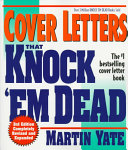 Cover Letters That Knock Em  Dead 1998 PDF