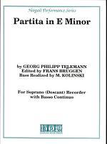 Partita in E Minor
