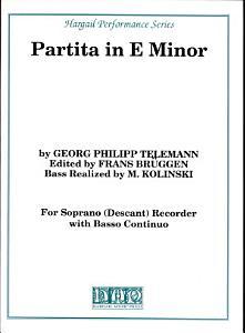 Partita in E Minor PDF