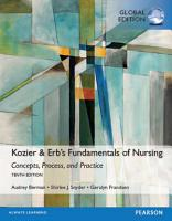Kozier   Erb s Fundamentals of Nursing  Global Edition PDF
