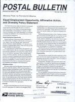Postal Bulletin PDF