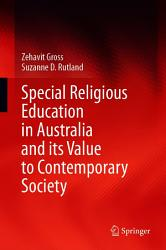 Special Religious Education in Australia and its Value to Contemporary Society PDF