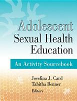 Adolescent Sexual Health Education PDF
