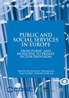 Public and Social Services in Europe PDF
