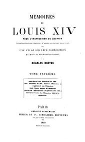 Mémoires de Louis XIV pour l'instruction du dauphin: Volume 2