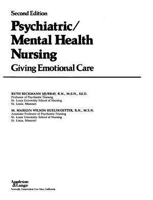 Psychiatric mental Health Nursing PDF