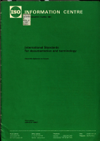 International Standards for Documentation and Terminology PDF