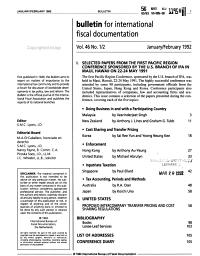 Bulletin for International Fiscal Documentation PDF