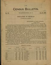 Census Bulletin: Issue 97