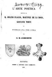 L'arte poetica esposta da Q. Orazio Flacco, Martinez de la Rosa, Giovanni Torti
