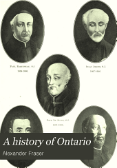 A history of Ontario: its resources and development, Volume 1