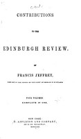 Contributions to the Edinburgh Review PDF