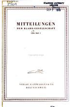 Mitteilungen f  r die Gesellschaft der Freunde Wilhelm Raabes PDF