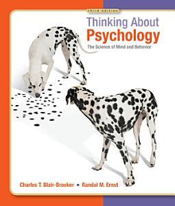 Thinking About Psychology PDF