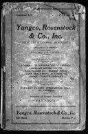 Rosenstock's Directory of China and Manila