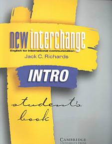 New Interchange Intro Student s Book PDF