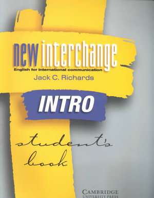 New Interchange Intro Student s Book PDF