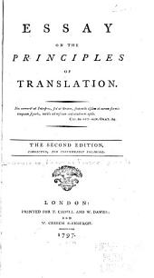 Essay on the Principles of Translation