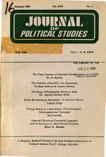 Journal of Political Studies