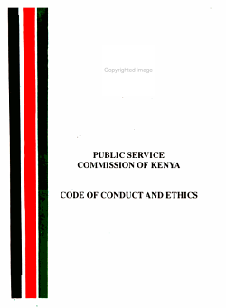 Code of Conduct and Ethics PDF