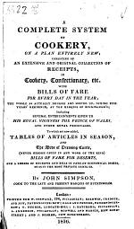 A Complete System of Cookery