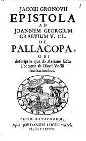 Epistola ad Joannem Georgium Graevium ... de Pallacopa