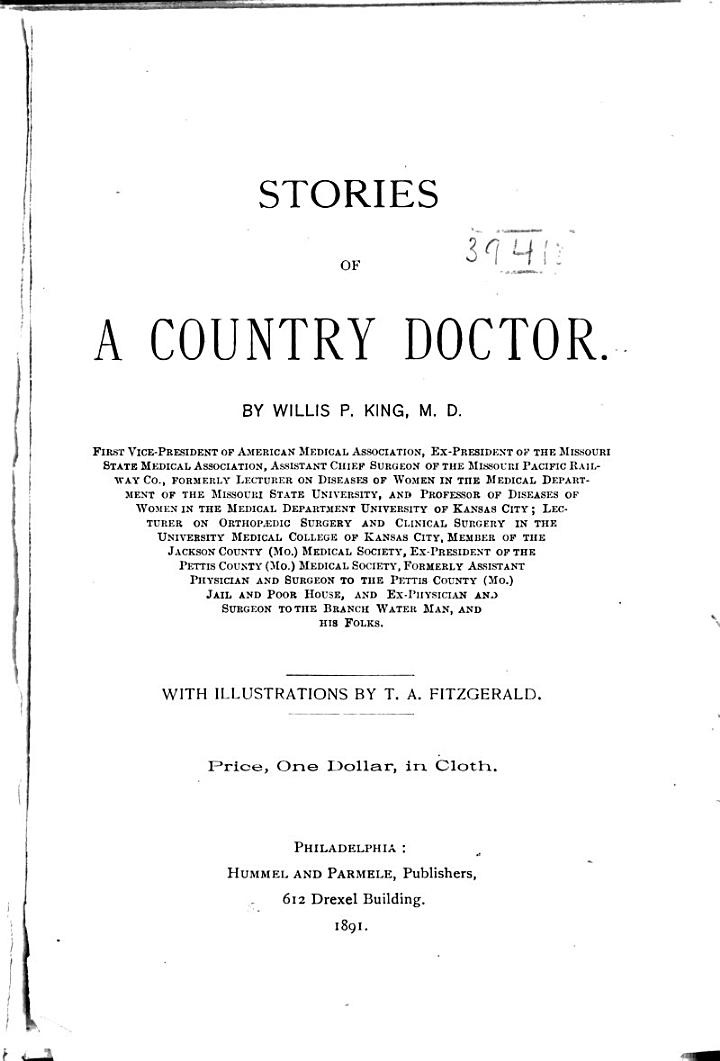 Stories of a Country Doctor