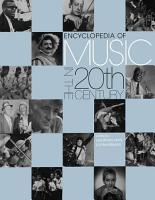 Encyclopedia of Music in the 20th Century PDF