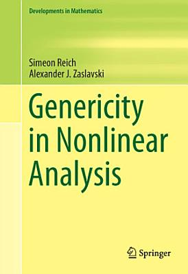 Genericity in Nonlinear Analysis PDF