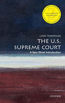 The U  S  Supreme Court  a Very Short Introduction PDF