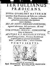 Tertullianus praedicans: Volume 6