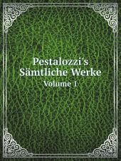Pestalozzi's S?mtliche Werke
